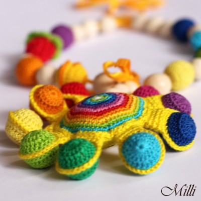 Sunny teething / nursing necklace by Milli