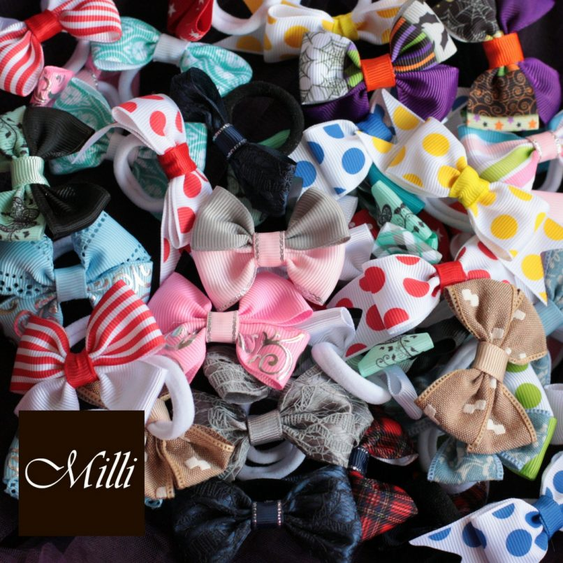 Handmade hair bands/ scrunchies by Millicrafts.com